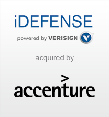 iDefense - Homepage and sidebar_logo